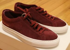 6fb2a4226319 Image is loading Common-Projects-Woman-Achilles-Low-Suede-Size-35-