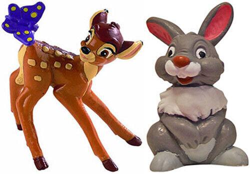 Bullyland Bambi Klopfer 2er Set 12420 12421 NEU