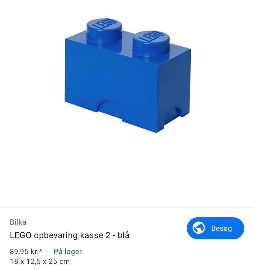 Opbevaring, Lego