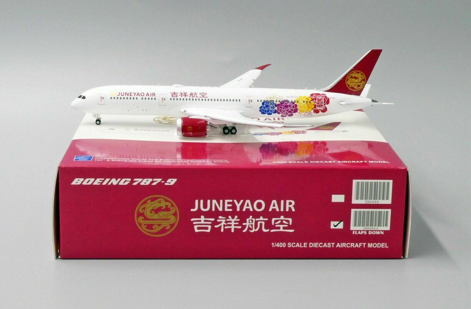 JC Wings 1 400 Juneyao Airlines Boeing B787-900 'Delivery - Flaps Down' B-1115