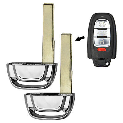 New Smart Remote Key Replacement Uncut Blade Blank Emergency Insert For Buick