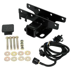 For-2007-2018-Jeep-Wrangler-Jk-2-034-Trailer-Tow-Hitch-Receiver-amp-Wiring-Harness