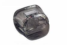 Smoke lens tail brake LED light Harley custom motorcycle stop lamp XL FLH FX FXR
