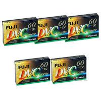 Fujifilm Dvm-60 60 Minute Mini Dv Recording Tape, 5 Tapes