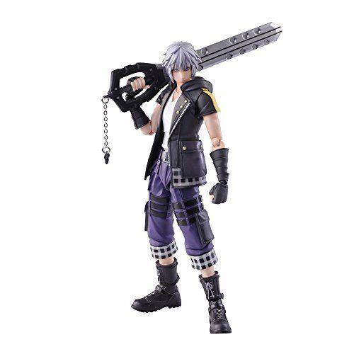 Square Enix Kingdom Hearts III Bring Arts  Riku Action Figure JAPAN OFFICIAL
