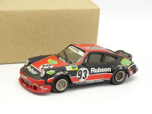 Holzspielzeug Mini Racing Set aufgebaut Metall 1/43 Fahrzeuge Porsche 911 sc rubson le mans 1980