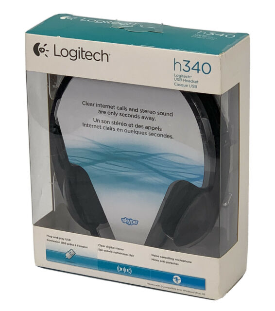 Logitech h340 USB Headset w/Noise-Canceling Microphone