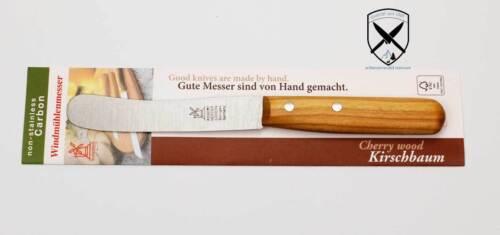 Windmühlenmesser R.Herder  Buckelsklinge 10cm  Kirsche Nicht Rostfrei