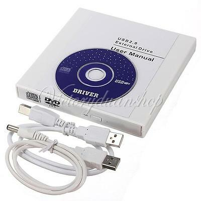New USB 2.0 External DVD Combo CD-RW Burner Drive CD±RW DVD ROM for PC Laptop