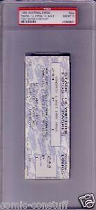 Tony-Gwynn-Hit-3000-1999-San-Diego-Padres-Expos-full-unused-ticket-3000th-PSA-10