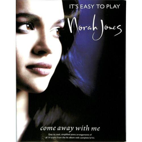 Klaviernoten It´s Easy To Play Norah Jones Musiknoten Come Away With Me