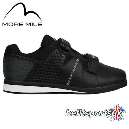MORE MILE MORE LIFT MENS WOMENS LADIES WEIGHT-LIFTING POWERLIFT TRAINERS SHOES