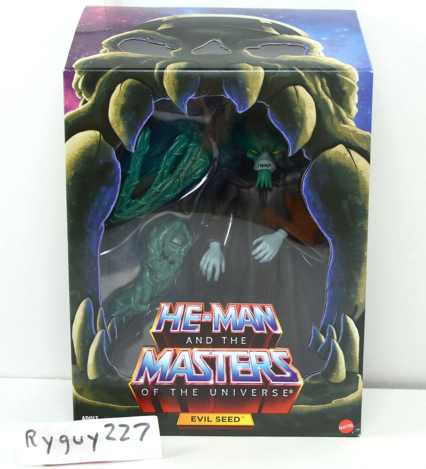 MOTUC, Evil Seed 2.0, Masters of the Universe Classics, MOC, sealed, Filmation