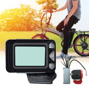 """5.5 """" LCD Display e-Bike Scooter Elettrico Auto Moto Freno Controller Set"""