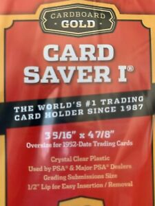 25-pack-New-Card-Saver-1-Holders-for-PSA-BGS-Grading-in-hand-ready-to-ship
