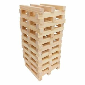 Giant Jenga Wooden Tumbling Tower Game Indoor Outdoor ...