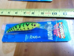 Luhr-Jensen-Power-Dive-Minnow-1-2-oz-Lure-Fishing-NIP-Fire-Tiger