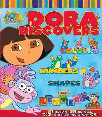 1 of 1 - Dora Discovers (Dora the Explorer), Nickelodeon, Excellent Book