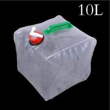 10 L Griff Wassereimer Wassersack Speicher Wassertank Outdoor PVC Wasserbeutel