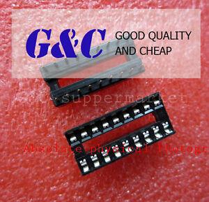 50PCS 18-Pin DIL DIP PCB Mount Connector NEW  IC Socket