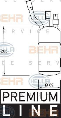 environ 2.44 m 8 ft 351 192-321 HELLA Sèche-linge Air Conditionné