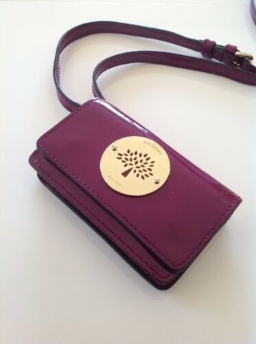 4 Messenger Daria Iphone Mini Excellent Patent Purple Condition For Mulberry Ibgm7v6yYf