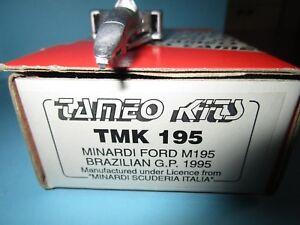 Kit de la petite apprivoisés Minardi Ford M195 1995 Martini Badoer Bresil 1/43 °