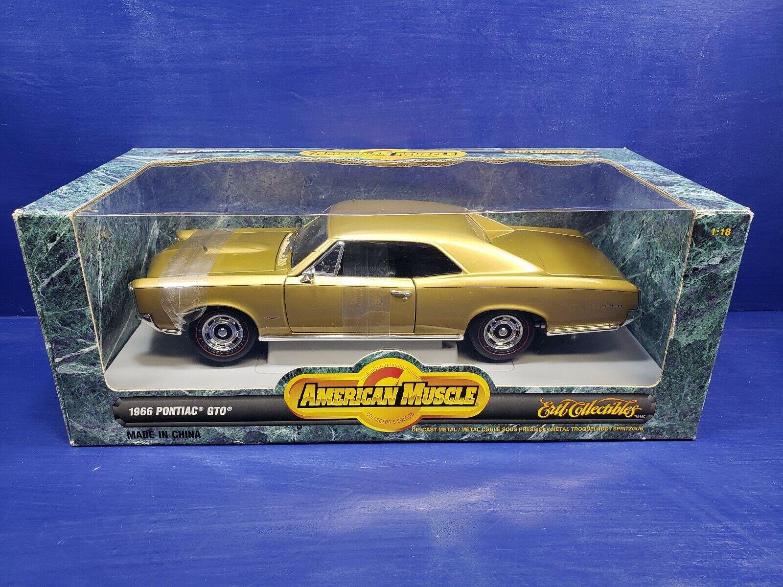 1 18 ertl american muscle 1966 Pontiac GTO or BD