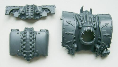 Warhammer 40K Chaos Space Marine Helbrute Torso Front Top /& Rear Plates