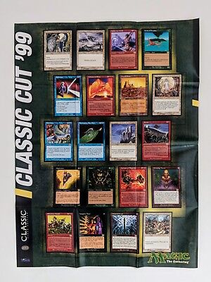 MTG WOTC 1994 Poster The Multiverse of Dominica Magic The Gathering New Alpha