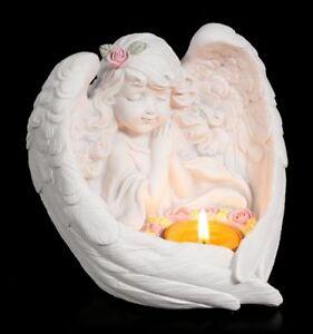 Porte-bougies - FILLE ENGEL MIT Rosaire - chérubins chérubin amour ...