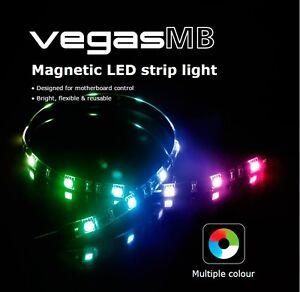 Image Is Loading Akasa Vegas MB RGB Magnetic LED Strip Light