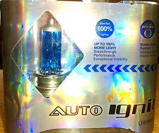H7 x 10 luminose lampadine alogene Xenon Look BULK LOTTO 499 477 12V 80W UPGRADE COPPIA