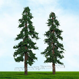Details about MP SCENERY 2 Redwood Trees HO Scale Architectural Model Trees  Railroad Layouts