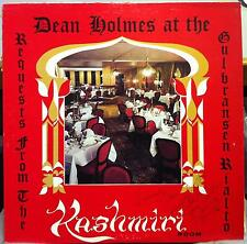 Dean Holmes - Request From The Kashmiri Room LP Mint- Private Lounge Jazz Rare