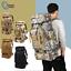 80L-Waterproof-Military-Tactical-Backpack-Bag-Hiking-Camping-Trekking-Rucksacks thumbnail 1