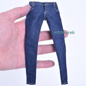 1-6-weibliche-Figur-Kleidung-Damen-Skinny-Jeans-cf001b-fuer-12-034-Phicen-Koerper-Abbildung