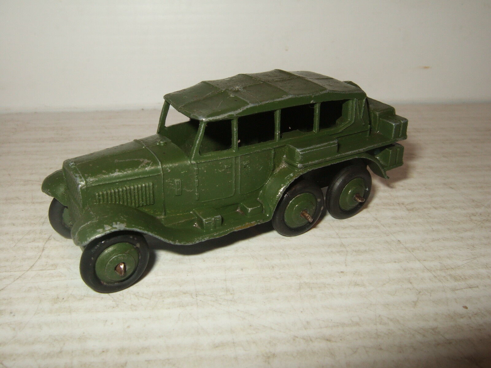 Vintage Rare Post-War Dinky Diecast Number 152B, Staff Reconnaissance Car