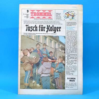 Sonderabschnitt Trommel 9/1987 Ddr-zeitschrift Merz Aschersleben Lucie Goldener Spatz Belafonte