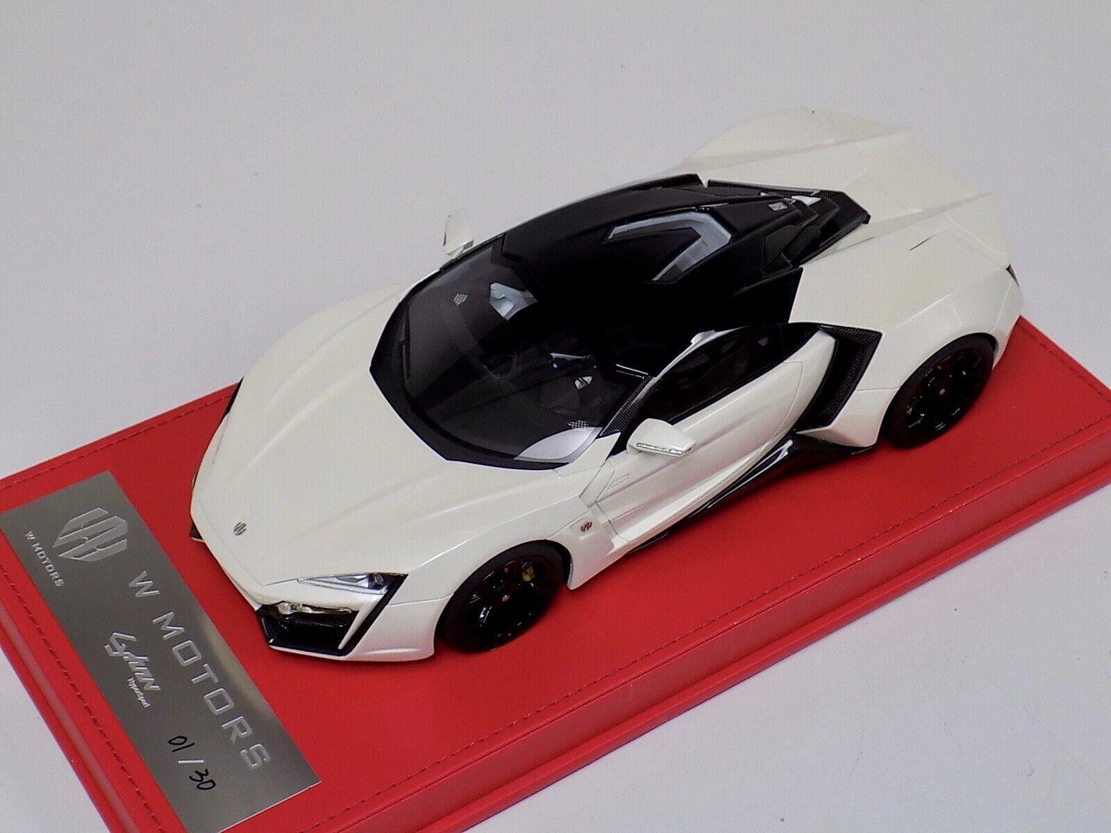 venta con descuento 1 18 W motor Lykan hybersport en blancoo blancoo blancoo modelo  1 30 último  Seleccione de las marcas más nuevas como