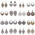 Women's Vintage Bohemian Boho Style Multi Style Silver/Gold Tassel Hook Earrings