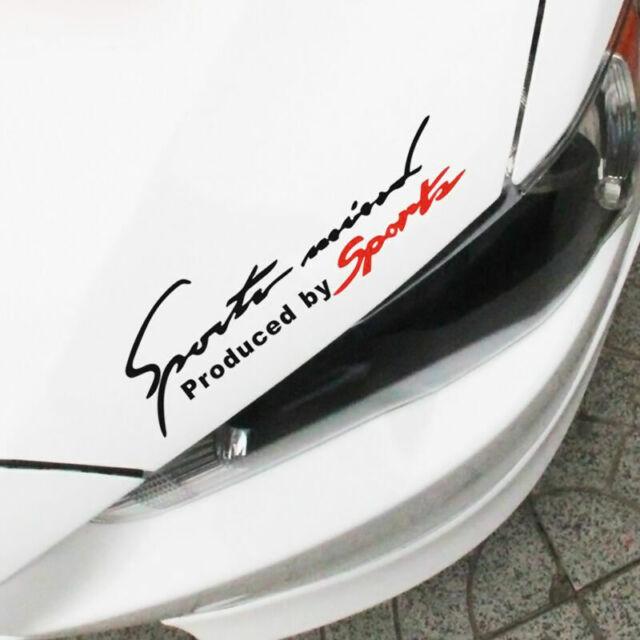 Auto Auto Reflektierende TRD Auto-Vinyl Graphic Aufkleber Abziehbild zufäll F6K9