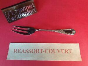 Tenedor-Pescado-17cm-Rocalla-Ravinet-de-Enfert-Muy-Bonito-Estado-Metal-Plateado