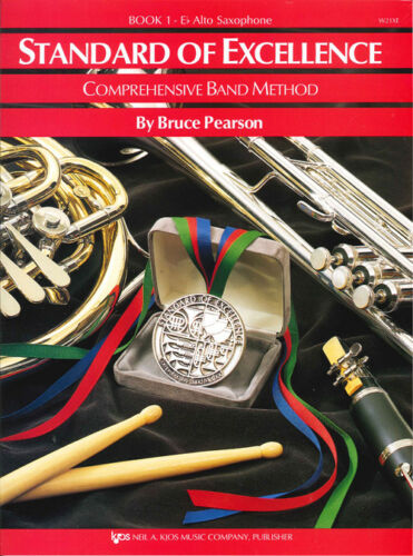 Standard of Excellence Alto Saxophone Book 1 Band Method Book W21XE