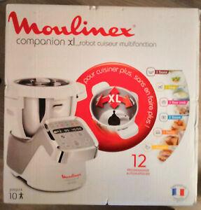 Robot cuiseur Moulinex COMPANION XL BLANC HF806E10 - NEUF (jamais ouvert)