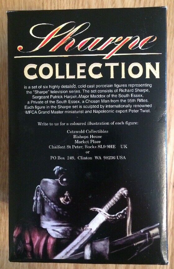Sharpe Porcelain Figure Collection Cotswold Collectibles Private South Essex