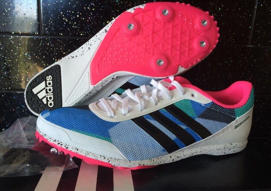 Adidas Distancestar Womens Running Spikes shoes AF5611 Lightweight
