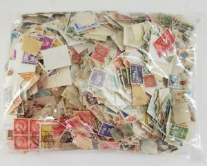 Kiloware-One-Pound-Older-Foreign-Stamps-Off-Paper-Lot-Collection