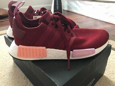 adidas Womens NMD_R1 W Burgundy
