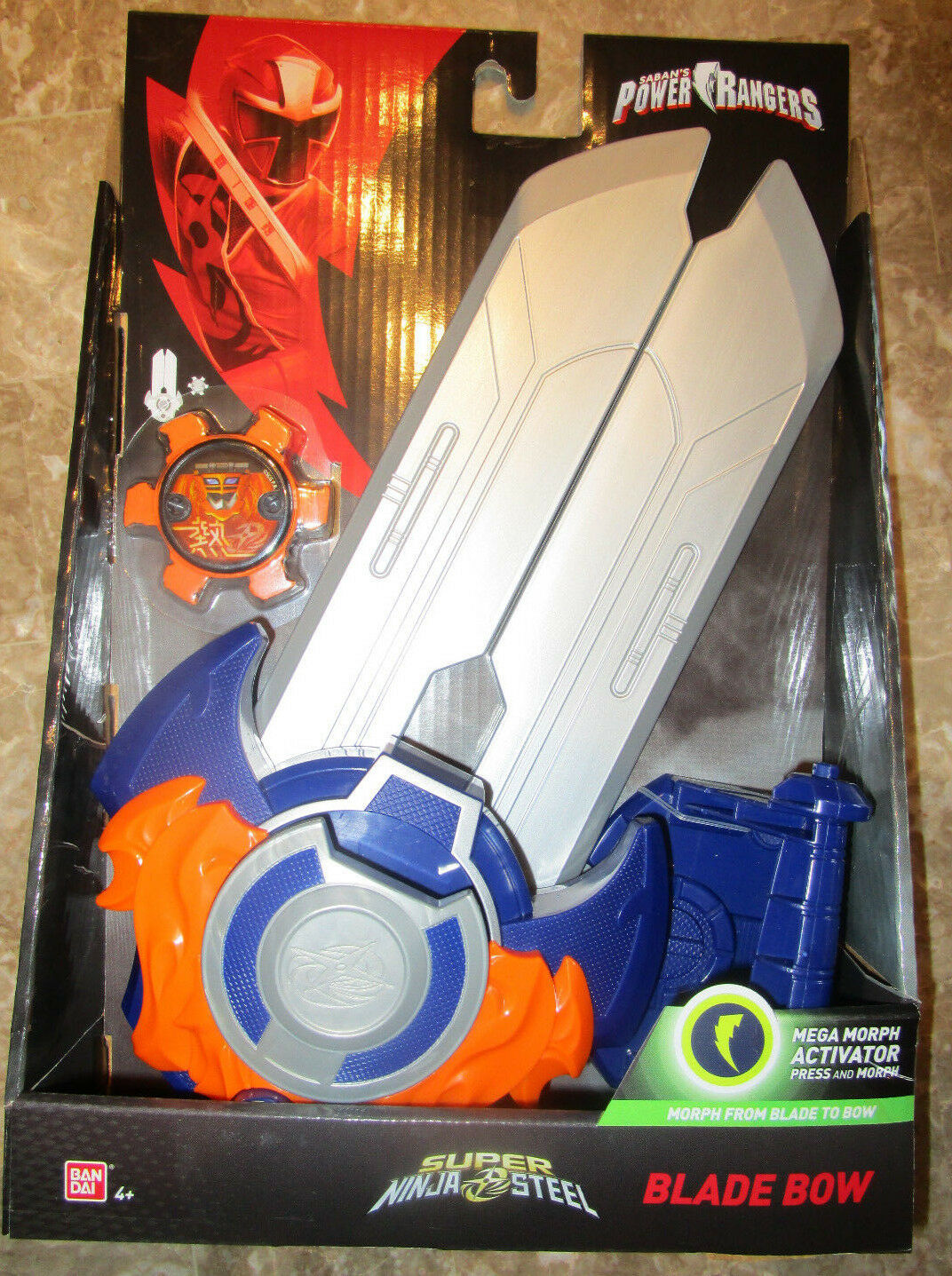 Power rangers super ninja stahl klinge bogen kampf ausrüstung morph - 2018 43826